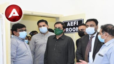 Photo of KU in collaboration with Sindh Health Department establishes Covid19 Vaccination Centre