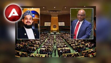 Photo of Allama Muhammad Ahsan Siddiqui Congratulations to His Excellency Abdulla Shahid New Elected as the President of the U.N. General Assembly UN76
