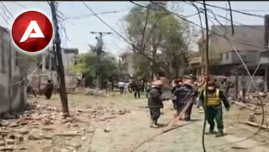 Photo of Blast in Lahore's Johar Town, 2 killed and 17 injured