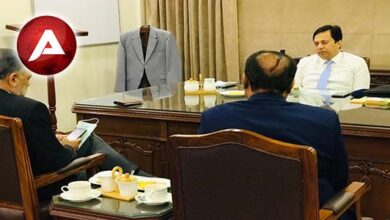 Photo of A delegation of Pak Arab Refinery(PARCO)called on Sindh Local Government Secretary Syed Najam Ahmad Shah
