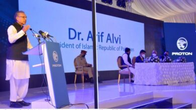 Photo of Manufacturing vehicles locally, a result of good policy of Govt: Dr. Arif Alvi